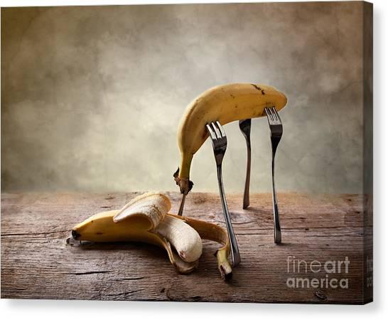 Bananas Canvas Print - Encounter by Nailia Schwarz