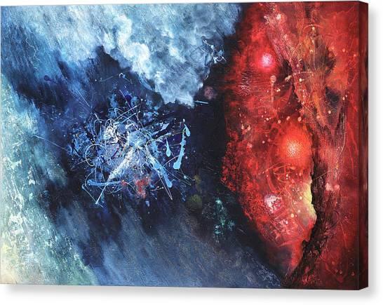 Encounter Canvas Print by Vasco Kirov