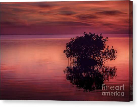Thunder Bay Canvas Print - End Of Another Day by Marvin Spates