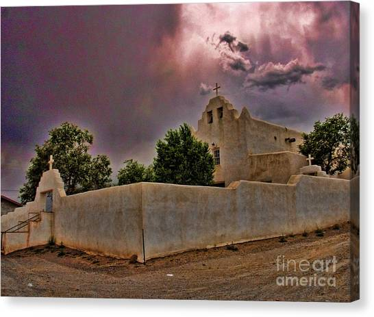 Chape Canvas Print - End Of Day by Jim Sweida