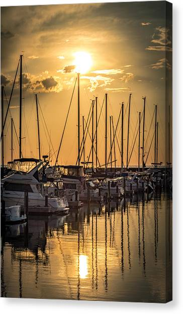 End Of Season Canvas Print