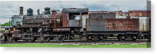 Trainspotting Canvas Print - End Of The Line by Enzwell