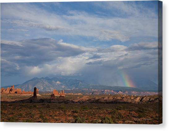 End Of The Rainbow Canvas Print
