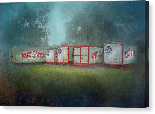 Caravan Canvas Print - End Of The Show by Marvin Spates
