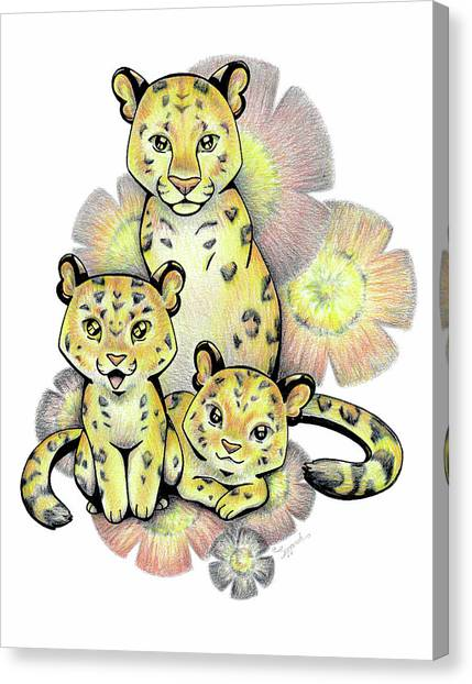 Endangered Animal Amur Leopard Canvas Print