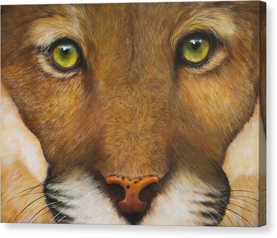 Endangered Eyes Canvas Print