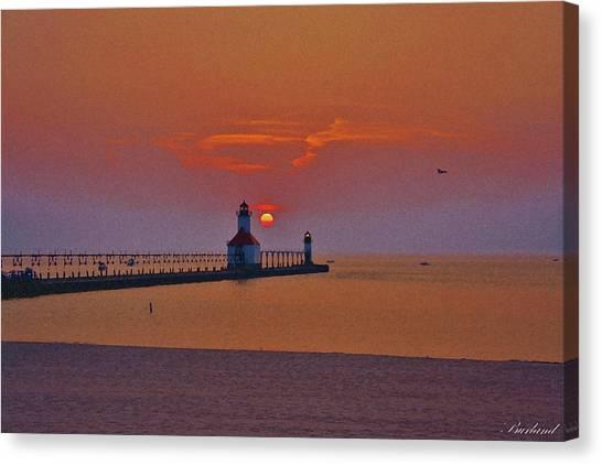 Endless Evening Canvas Print