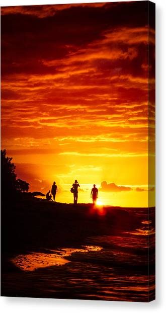Canvas Print featuring the photograph Endless Fiju by T Brian Jones