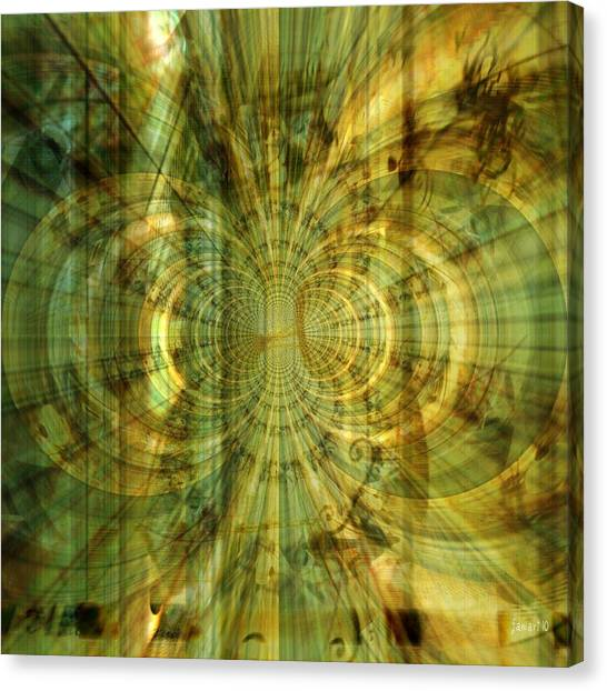 Endless Imagination Canvas Print by Fania Simon