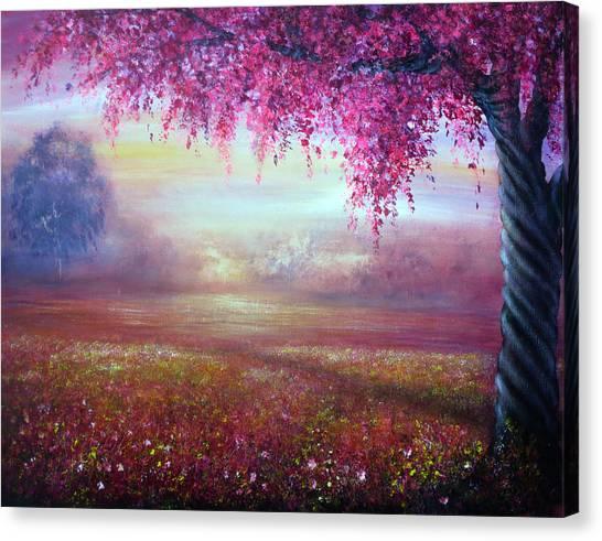 Endless Love Canvas Print by Ann Marie Bone