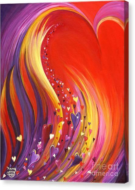 Arise My Love Canvas Print