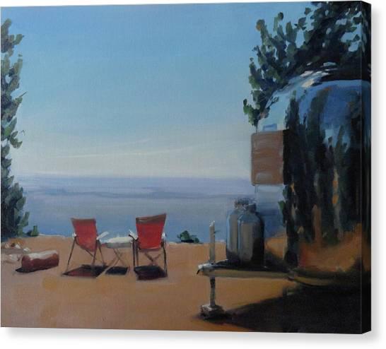 Endless View Boondocking At The Grand Canyon Canvas Print