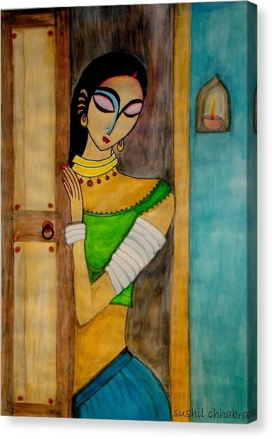 Endless Wait Canvas Print by sushil  Chhabra