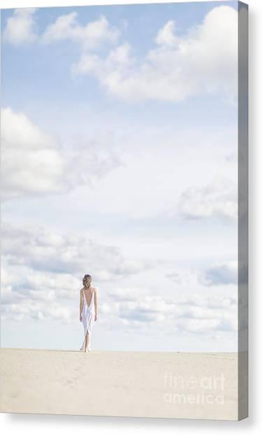 Romance Canvas Print - Endlessly by Evelina Kremsdorf