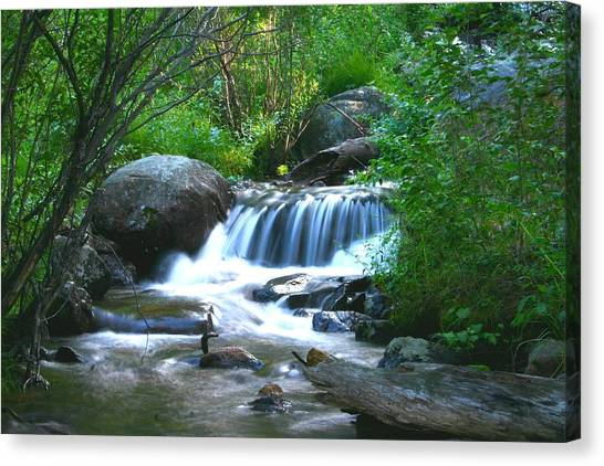 Endo Valley Waterfall Canvas Print