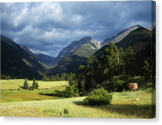 Endovalley Aftenoon Canvas Print