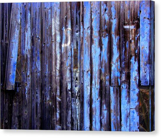 Enduring Blue Canvas Print