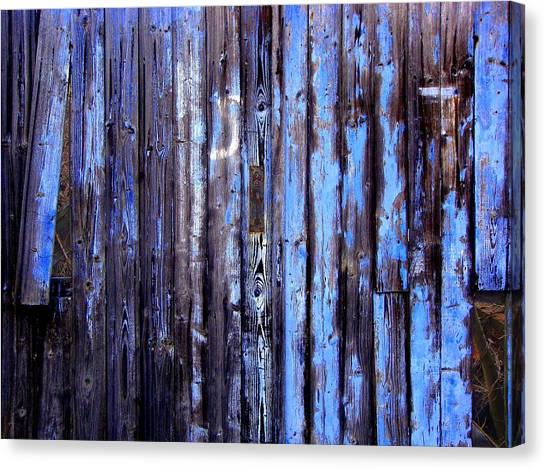 Enduring Blue Canvas Print