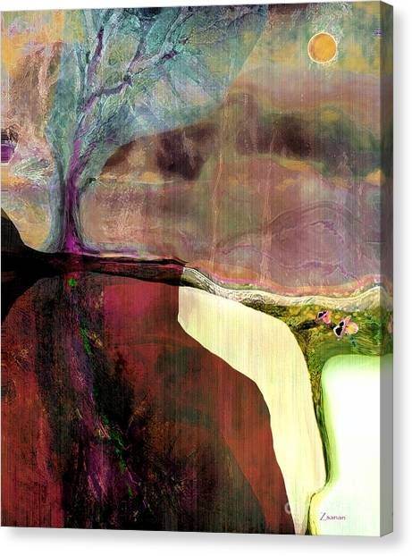 Energy Cycle No 1. Canvas Print