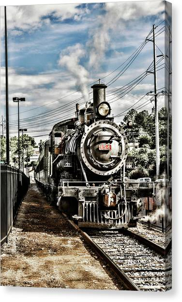 Engine 154 Canvas Print