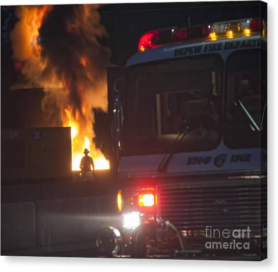 Engine 6 Canvas Print