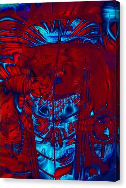 Engine Roar Canvas Print by Devalyn Marshall