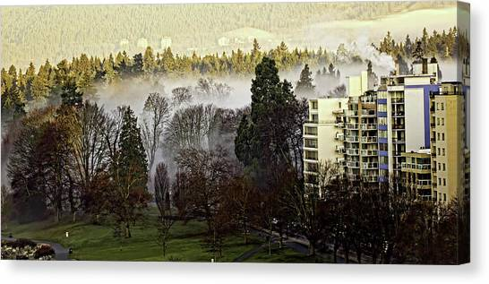 English Bay Fog #2 Canvas Print