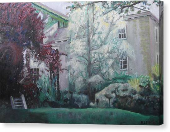 English Estate Canvas Print by Keith Bagg