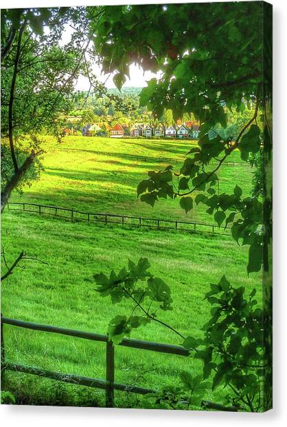 English Summer Contentment  Canvas Print