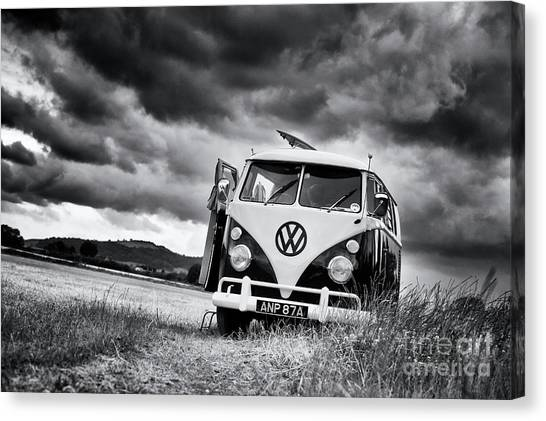 Rainclouds Canvas Print - English Summer  by Tim Gainey