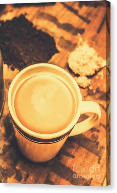 Indoor Still Life Canvas Print - English Tea Breakfast by Jorgo Photography - Wall Art Gallery