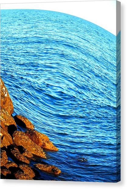 Andreas Gursky Canvas Print - Enigma by Sharmaigne Foja