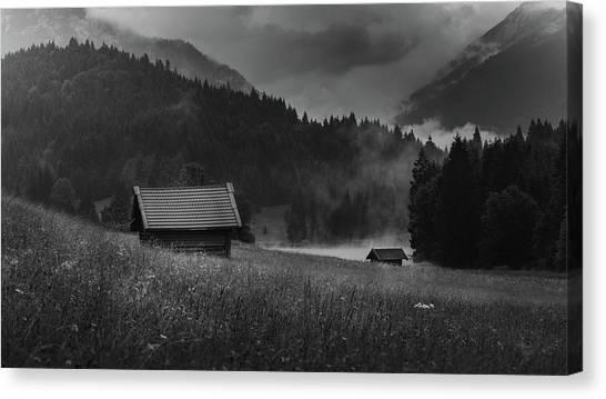Enigmatic Alps Canvas Print
