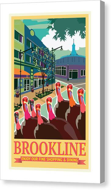 Enjoy Our Shopping Canvas Print
