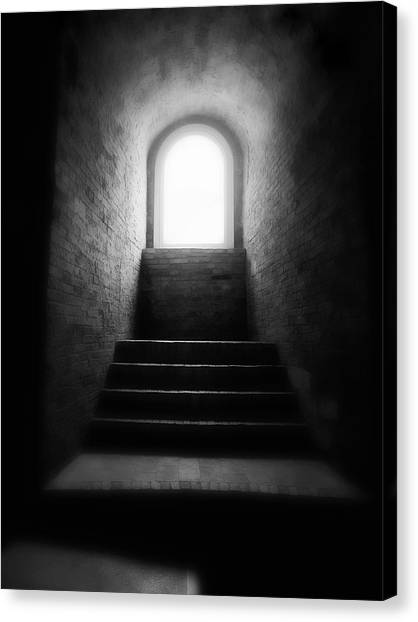 Enlighted Canvas Print by Artecco Fine Art Photography