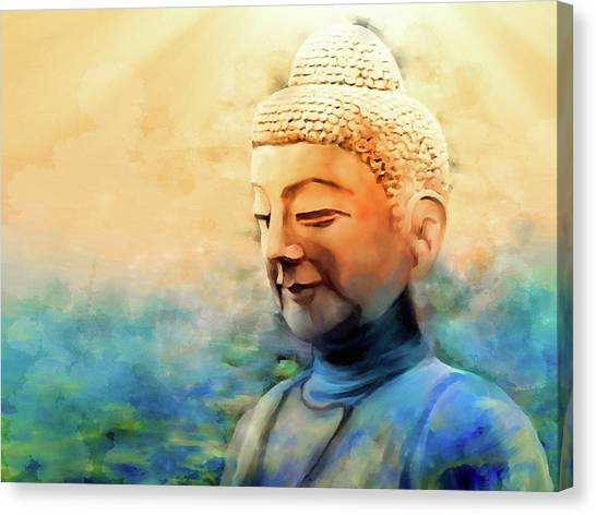 Enlightened One Canvas Print