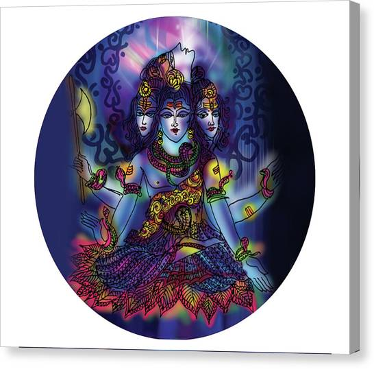 Enlightened Shiva Canvas Print