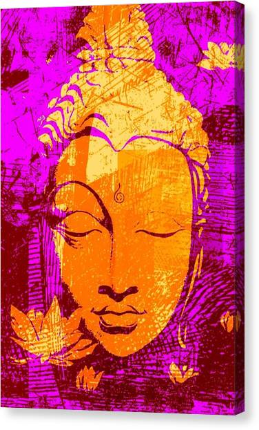Yogi Canvas Print - Enlightenment  by Brian Broadway