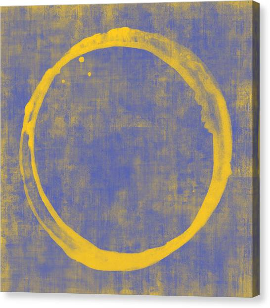 Abstract Art Canvas Print - Enso 1 by Julie Niemela