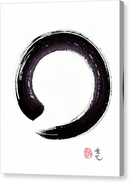 Enso - Embracing Imperfection Canvas Print