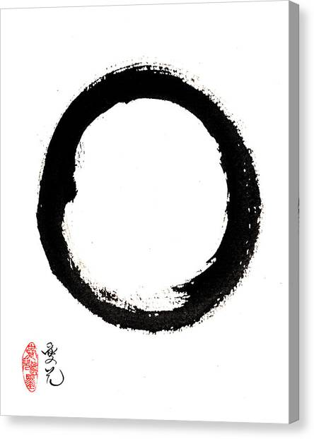 Enso Enlightenment Canvas Print