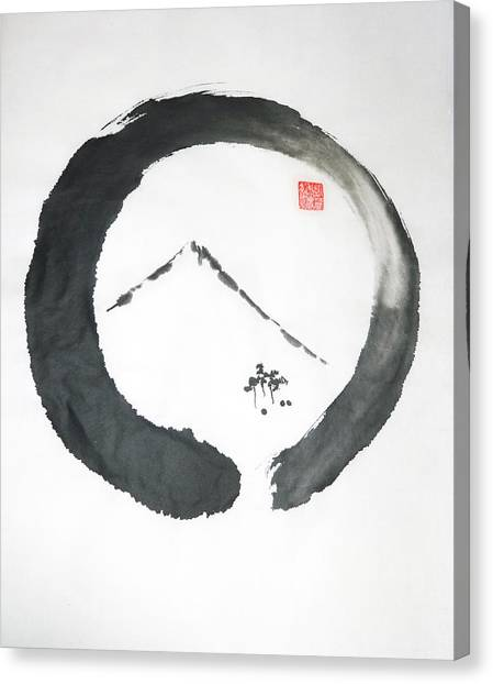 Enso Noble Canvas Print