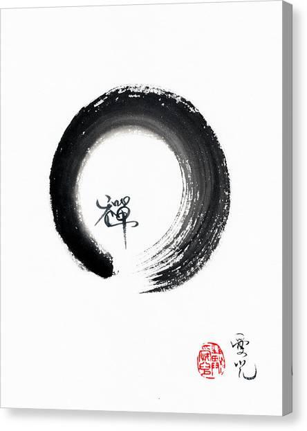 Enso Zen Canvas Print