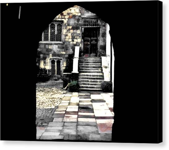 Enter London Canvas Print