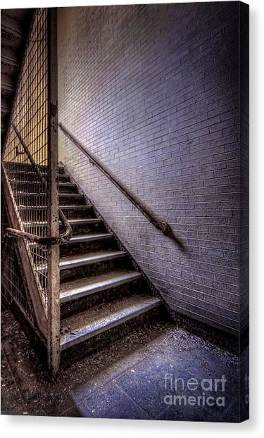 Urban Decay Canvas Print - Enter The Darkness by Evelina Kremsdorf