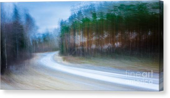 Enter The Slumberland Forest Canvas Print