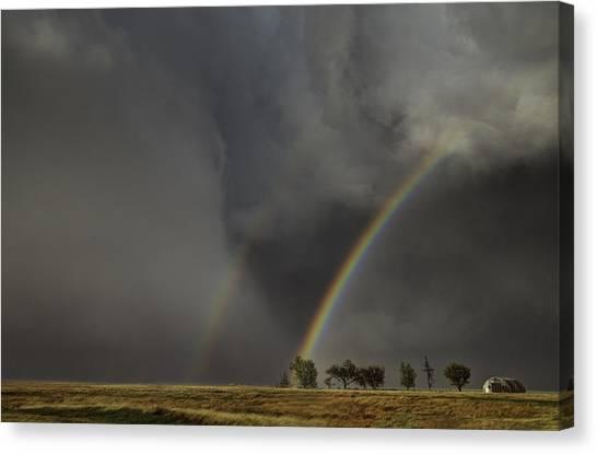 Enter The Storm Canvas Print