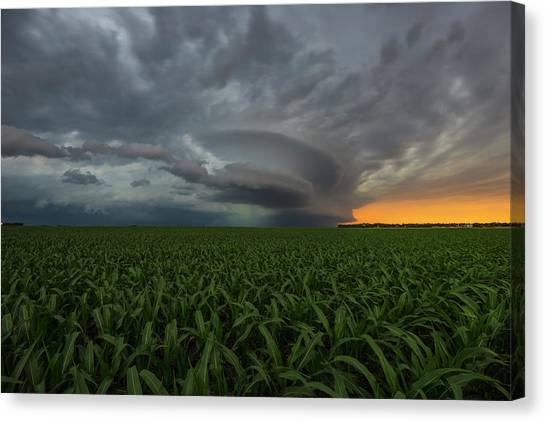 Tornadoes Canvas Print - Enterprise Tws by Aaron J Groen
