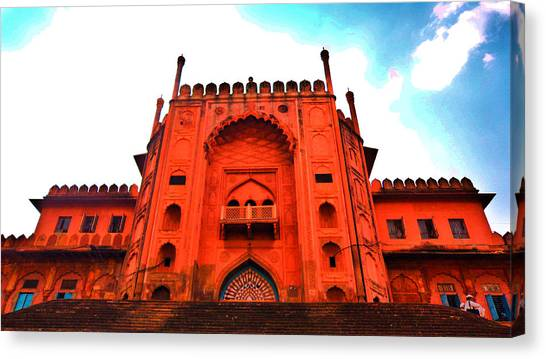 Canvas Print - #entrance Gate by Aakash Pandit