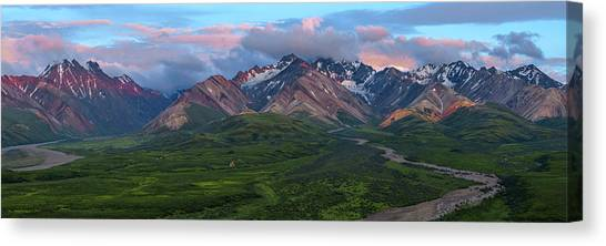 Denali Canvas Print - Entranced by Chad Dutson